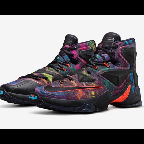 detailed look 1ab46 ed854 ... authentic lebron 13 akronite size 11.5 like new 7a1bb c23e1